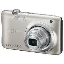 compact-digital-cameras-Nikon (NIKON) Coolpix A100 portable digital camera (2005 megapixel 2.7 inches screen 5x optical zoom 26mm wide angle) silver on JD