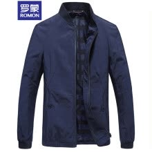 -ROMON jacket male 2018 autumn and winter new business casual jacket male 8JK981802 Navy 175 on JD