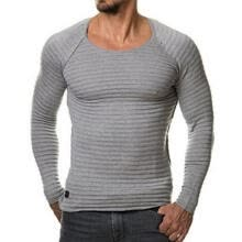 t-shirts-Trendy Mens Casual Baggy Long Sleeve Street T-shirts Loose Muscle Club Tee Top on JD
