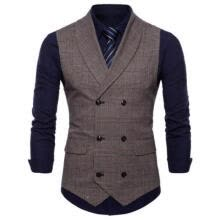 -New Men Formal Business Slim Fit Dress Vest Suit Tuxedo Waistcoat Gracious LA on JD