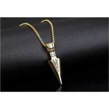 choker-necklaces-Men'S Fashion Jewelry Fashion Stainless Steel Sword Pendant Mens Necklace on JD