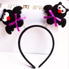 nose-clips-Halloween Headbands Bat Hair Band Pumpkin Hoop Adult Kids Party Headdress on JD