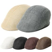accessories-New Mens Retro Baker Boy Peaked NewsBoy Country Outdoors Golf Hat Beret Flat Cap on JD