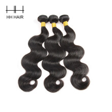 Brazilian Body Wave Human Hair Bundles 3 Bundles 8-28inch Mix Length Remy Hair Extensions King Hair Weaving Free Shipping Hair Extensions & Wigs