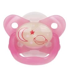 - Dr Drink's baby pacifier with night light (6-12 months - red)) PV21007 US original import on JD