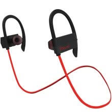 -BIAZE Sports Bluetooth Headset Stereo Music Headset Binaural Business Call Ear-hook Support Huawei / oppo / Xiaomi / vivo / Apple Phone D16 Black Red on JD