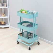 other-furniture-Medas 3 tiers mobile storage rack cart on JD