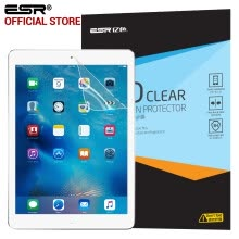 -Protector for iPad Air 2/iPad 5, ESR HD Clear Full Screen Transparent film screen protector for iPad Air/Air 2 on JD