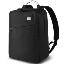 -LEXON (LEXON) waterproof fabric business casual laptop bag 14-inch shoulder briefcase briefcase LNE9014N06T black on JD