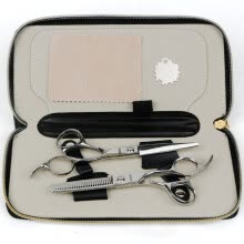 -RIWA RD-200 Professional Hairdresser Scissors Set Cutting+ Thinning Scissors on JD