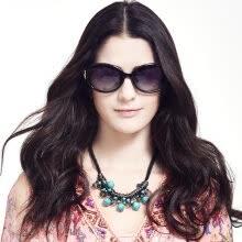 17739e9e678 Love (LianSan) polarized sunglasses female section of the big frame fashion  face color film diamond Korean driving mirror sunglasses GD103 black  polarized ...