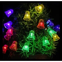 fairy-lights-Solar Lights, String Light Bulbs Listed,Led Fairy Lights For Wedding /Backyard/Christmas Decoration Lights, waterproof,(snowflake) on JD