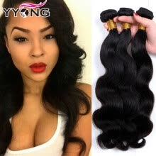 -Pervian Virgin Hair Body Wave 8A 100 Human Hair Weave 3 Bundles YYONG Hair Company Peruvian Virgin Hair Body Wave Bundle Deals on JD