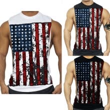-New Men's Fasshion sleeveless tank top T-shirt on JD