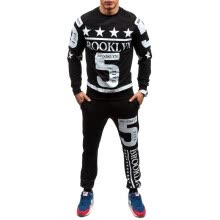 875061886-2016 New men' fashion 2 parts sweatshirt and sport pants set on JD