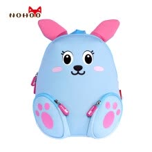 875071723-NOHOO Little Kids Children's School Bags Backpacks 3D Cartoon Rabbit Small Backpacks Toddler Baby Girls School Bags for 2-4 Years on JD
