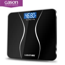 -GASON A2 Bathroom Body Scales Glass Smart Household Electronic Digital Floor Weight Balance Bariatric LCD Display 180KG/50G on JD