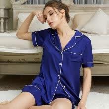 8b2a3e4e11d New Women Nightgown Night Gown 2 Pcs Silk Satin Sleepwear Pijamas Pajamas  Pyjama Sets Sexy Robes Bathrobes Longue Femme TZ071