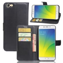 GANGXUN OPPO F3 Case High Quality PU Leather Flip Cover Kickstand Anti-shock Wallet Case for OPPO A77