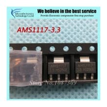 -50pcs free shipping AMS1117-3.3 AMS1117 3.3V 1A SOT-223 Voltage Regulato new original on JD