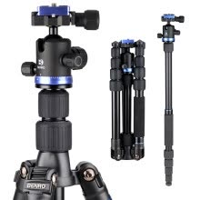 -Beno (Benro) tripod IT19 SLR tripod reversal variable monopod aviation aluminum tripod PTZ suite portable models on JD