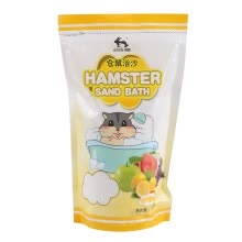 birds-fishes-other-small-animals-and-horses-Jesse (JESSIE) Hamster Baths 1kg Gold Bear Bubble Bath Sand Bath Hammura Urine Shampoo with Lemon Flavor on JD