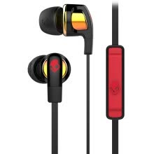 -Skullcandy SMOKIN BUD 2 S2PGGY-392 Portable phone music headset red and black on JD