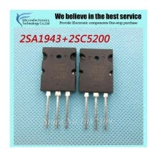 -10PCS free shipping A1943 C5200 2SA1943 2SC5200 audio pair tube TO-3PL 5PCS* A1943+5PCS* C5200 new original on JD