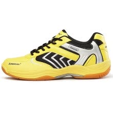 875062322-[Jingdong supermarket] Kawasaki Kawasaki badminton shoes comfortable breathable non-slip wear-resistant sports shoes shadow orange 43 yards on JD