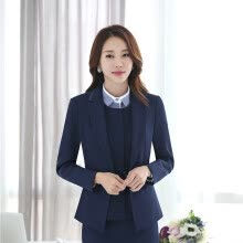 916063d018c15 Plus Size 4XL Formal Jackets Coat For Ladies Office Work Wear Autumn Winter  Outwear Blazers Female Tops Clothes Long Sleeve
