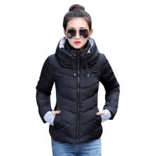 -Winter Jacket Women Parka Thick Winter Outerwear Plus Size Down Coat Short Slim Design Cotton-padded Jackets and Coats on JD
