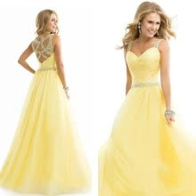 5735b5397492 CANIS Long Formal Prom Dress Cocktail Party Ball Gown Evening Bridesmaid  Dress