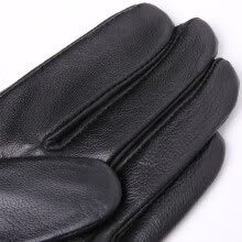 875062531-Leather gloves, men's sheep skin, outdoor leisure on JD