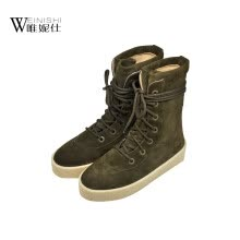 875061444-Persun good quality boot winter balck pebbling patent leather short boots causl style women boots on JD