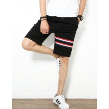 875068681-SHUYI Summer Running Shorts Male Japanese Trend Sports Pants Pure Cotton Pure Color Wit Students 5 Points Casual Pants on JD