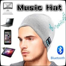 skullies-beanies-Wireless Bluetooth Hat Talk Music Stereo Bluetooth Headset Knit Cap  wireless bluetooth headset hat  sport fashion knitted hat on JD