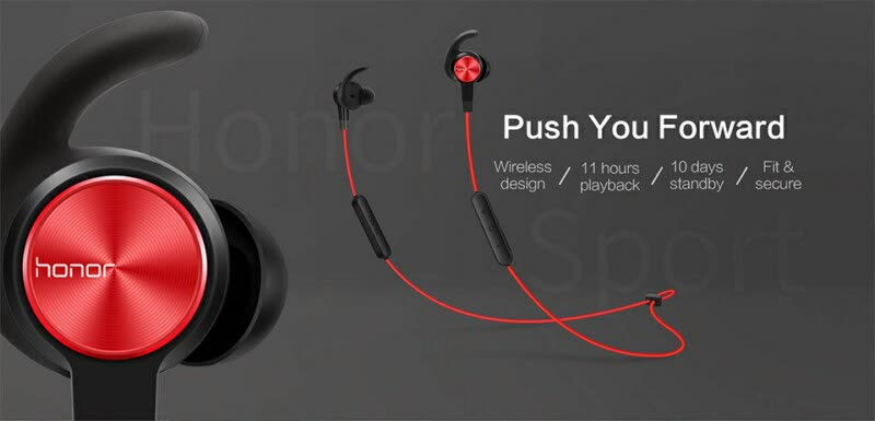 Shop Huawei Honor Xsport Am61 Sports Bluetooth Wireless Earphones Black Online From Best Headphones On Jd Com Global Site Joybuy Com