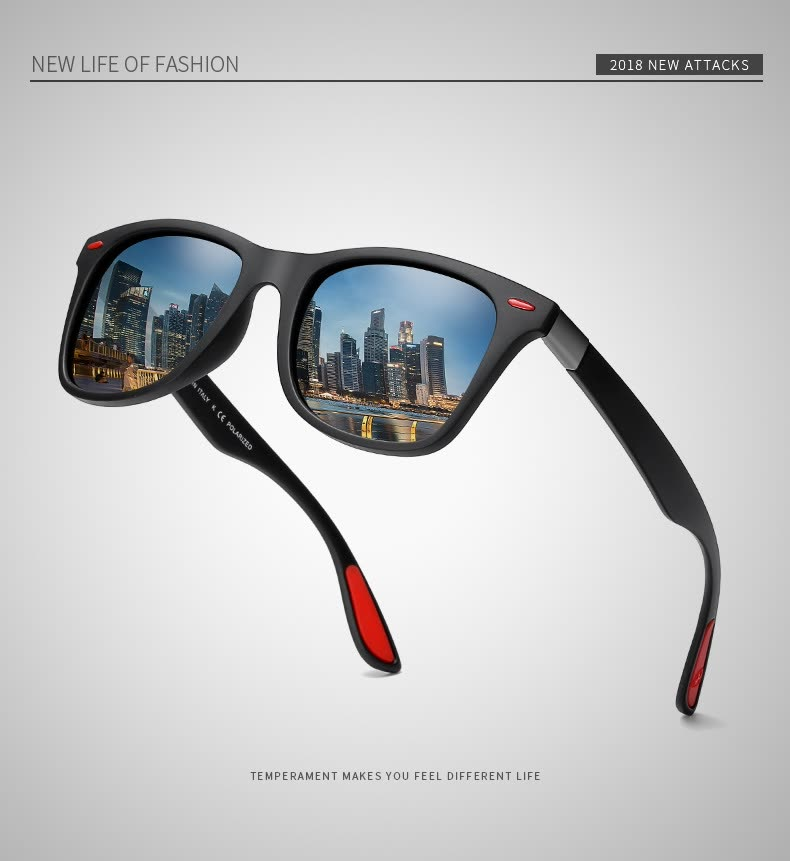 e0fdadf4a2aef Shop Brand Design Classic Polarized Sunglasses Men Women Driving ...