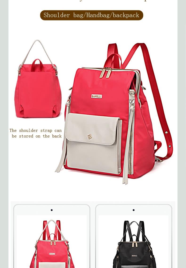 Shop BAFELLI Multi-functional three-use backpack womens backpacks ... dd09f67482c70