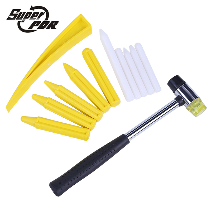 US Paintless Car Dent Remover Repair Kit Tap Down Knockdown Pen for Hammer