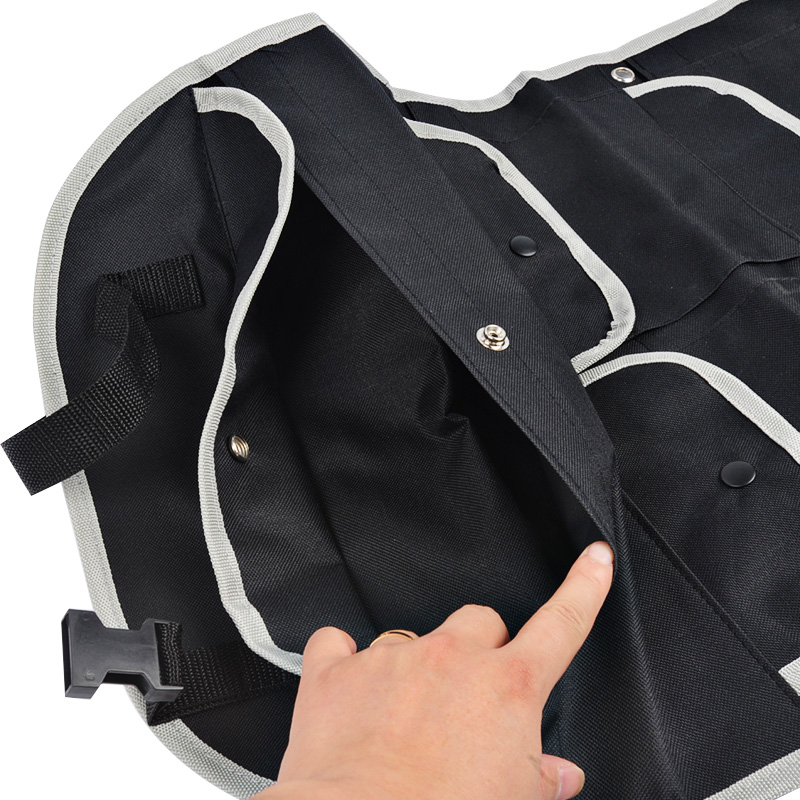 Car Seat Back Bag Storage Multi Pocket Organizer Bag Protector For Kids Kick Mat