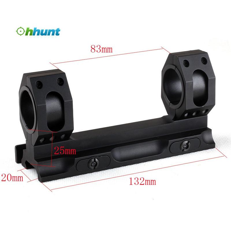 BK//DE 25.4mm//30mm Ring Diameter QD AUTO LOCK Aluminum Material Scope Mount