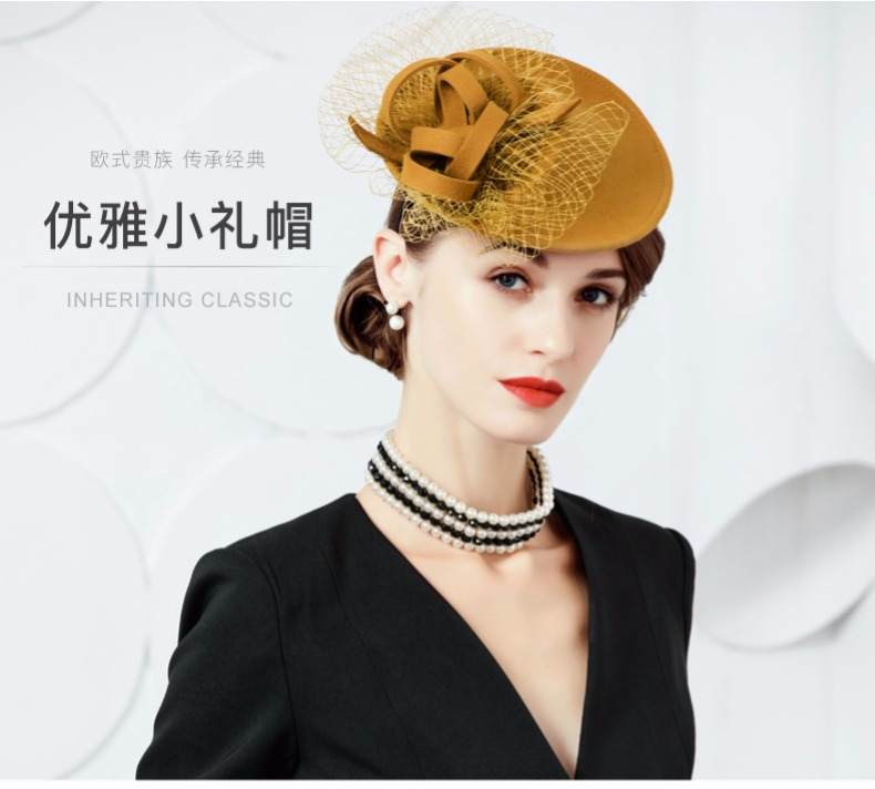 Fedora Hat Wedding Dress Formal WHITE CAP MEN WOMEN FASHION WINTER