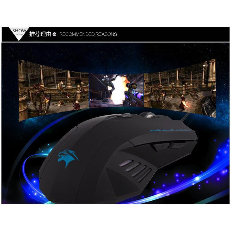 Forka оптическая USB-мышь проводной игровой