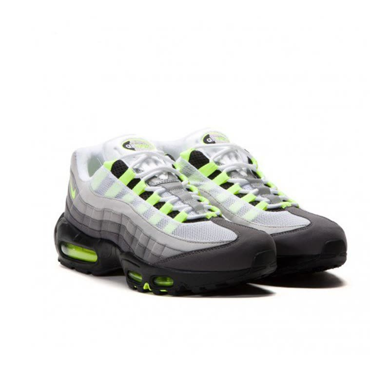 the latest 2a47f bff33 Shop NIKE Air Max 95 OG Original Mens Running Shoes Mesh Breathable ...