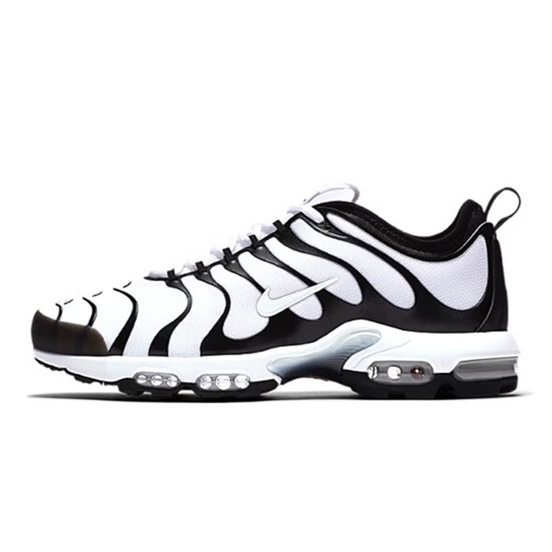 Nike AIR MAX PLUS TN ULTRA Men Running Shoes All White Black Hook Online