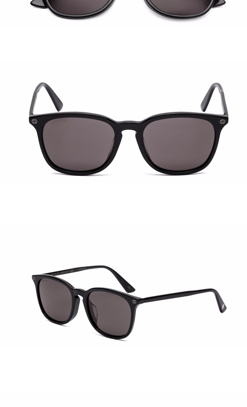 6cc29ef96ac Shop GUCCI Gucci eyewear men and women models neutral sunglasses ...
