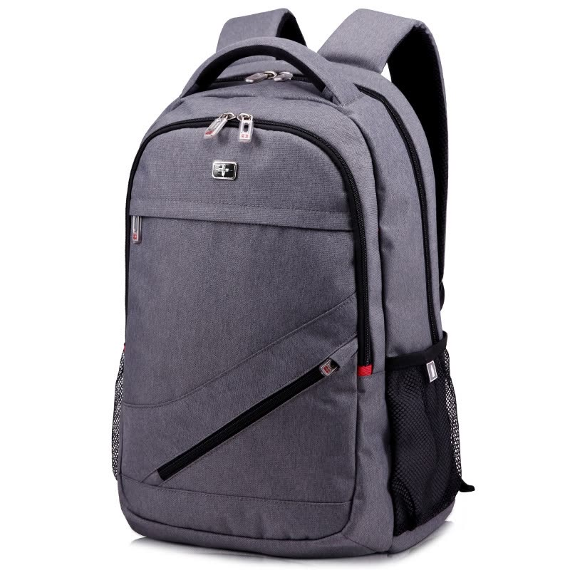 7dc39ea88e ... Schweitz cross shoulder bag male backpack female Korean casual bag  fashion shoulder computer bag SC81407 blue